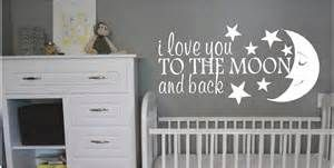 Love You To The Moon And Back - Wall Decals