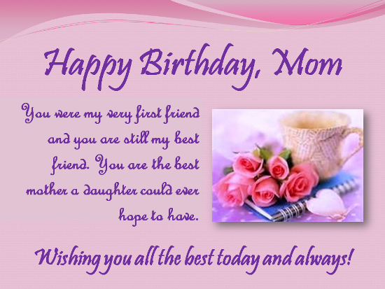 MOTHER YOU MAKE OUR WORLD A SAFE AND HAPPY PLACE ON YOUR – Birthday Card Wishes for Mom