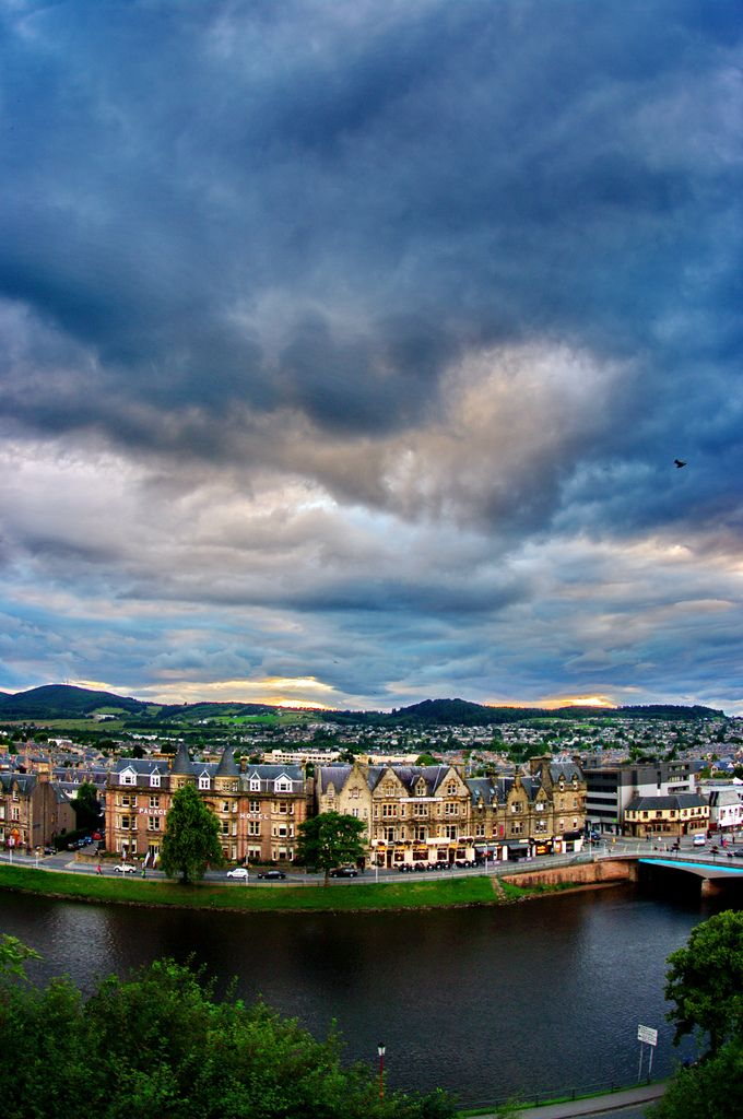 Ecosse, Scotland, Inverness 37 Ness Walk from the Castle | by paspog
