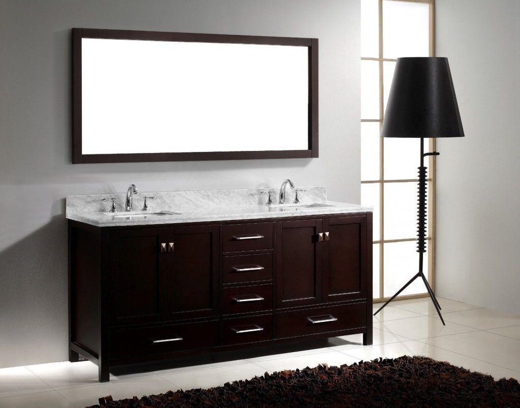 5 Foot Wide Bathroom Vanity Double Vanity Bathroom 72 Inch