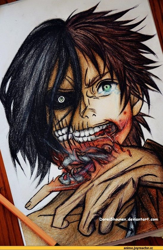Eren Jaeger Manga Colored