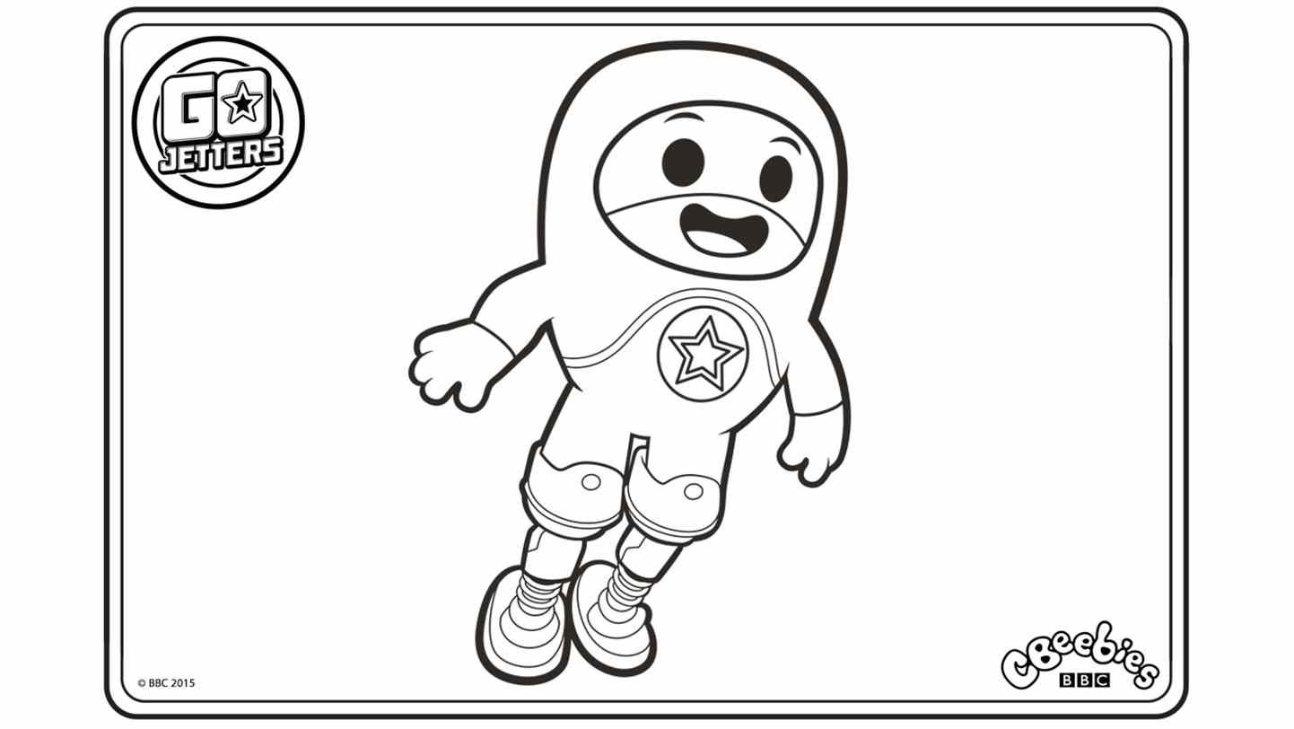 go jetters coloring pages for kids | Go Jetters | CBeebies Australia | CBeebies | Go jetters ...