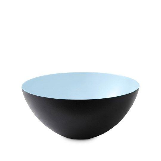 Krenit skål, lyseblå, Normann Copenhagen, Herbert Krenchel