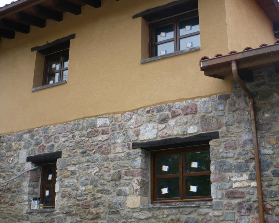 Una rehabilitaci n en la que se combin en su fachada - Cubiertas de madera ...