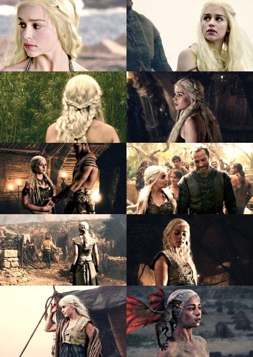 Daenerys Targaryen, one of my many lady crushes.