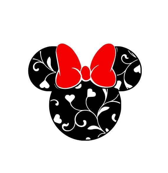 Download Valentine Minnie .svg file for Cricut and Silhouette by ...