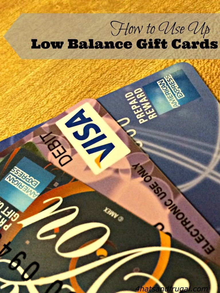 This Is A Great Tutorial On How To Use Up Low Balance Gift Cards Bookmark It For After The Holiday Season