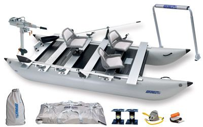 Sea Eagle 440fc Ultimate Paket Kajak Kanu Elektromotor Bei Beachandpool De Online Kaufen Kayaking Electric Motor Pontoon Boat