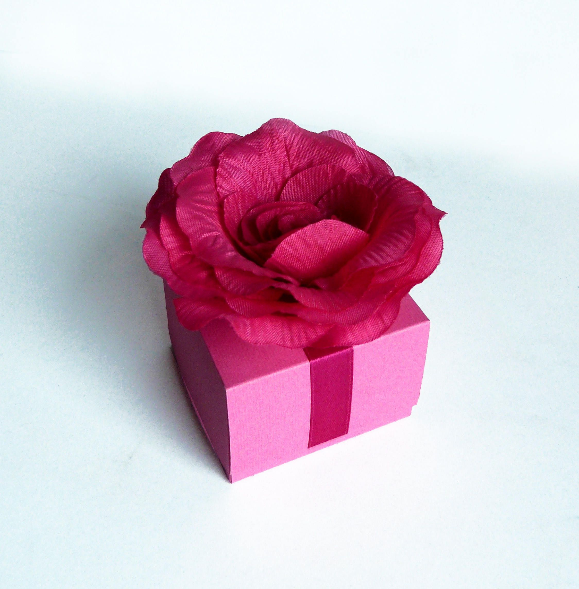 10 pcs Rose Favors boxs,Wedding favor box,Gift box,Favors, Favors ...