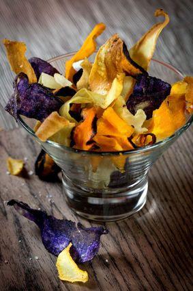 Chips de l gumes d hiver recette apperitif pinterest - Legumes d hiver a cuisiner ...