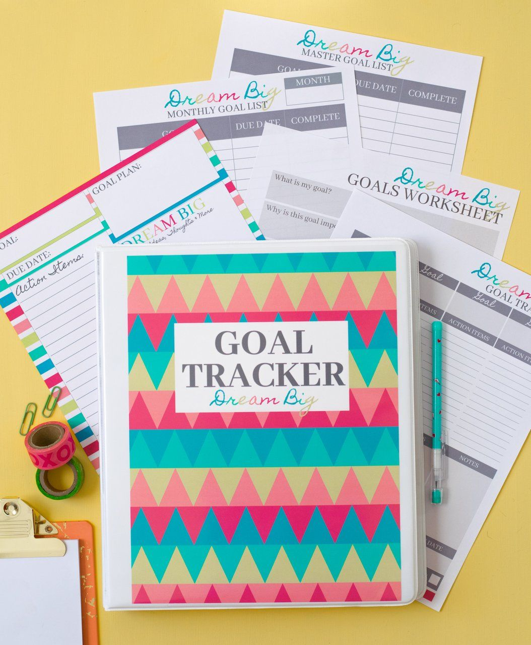 Printable Goal Planning Pages In