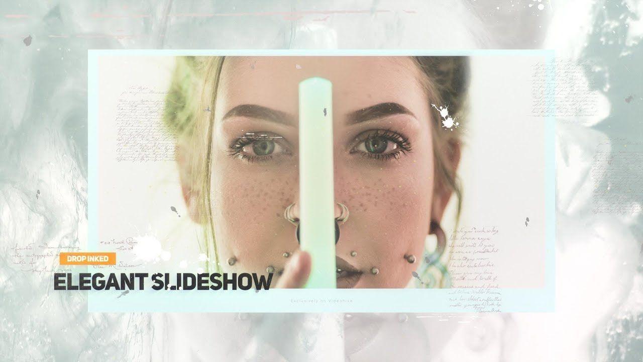 Drop Inked Elegant Slideshow Youtube