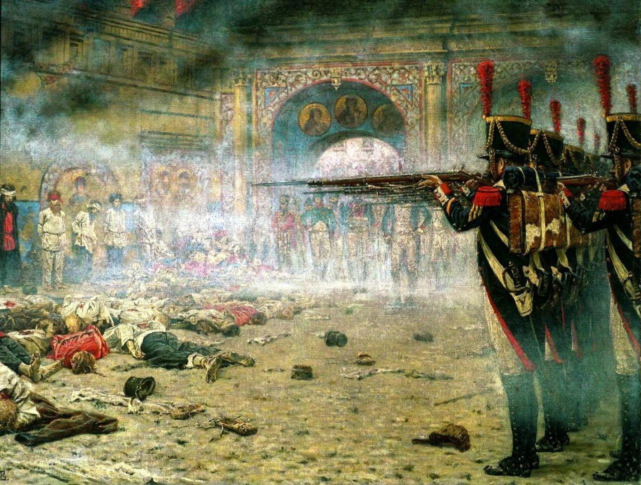 Moscow 1812 Vasily Vereshchagin,
