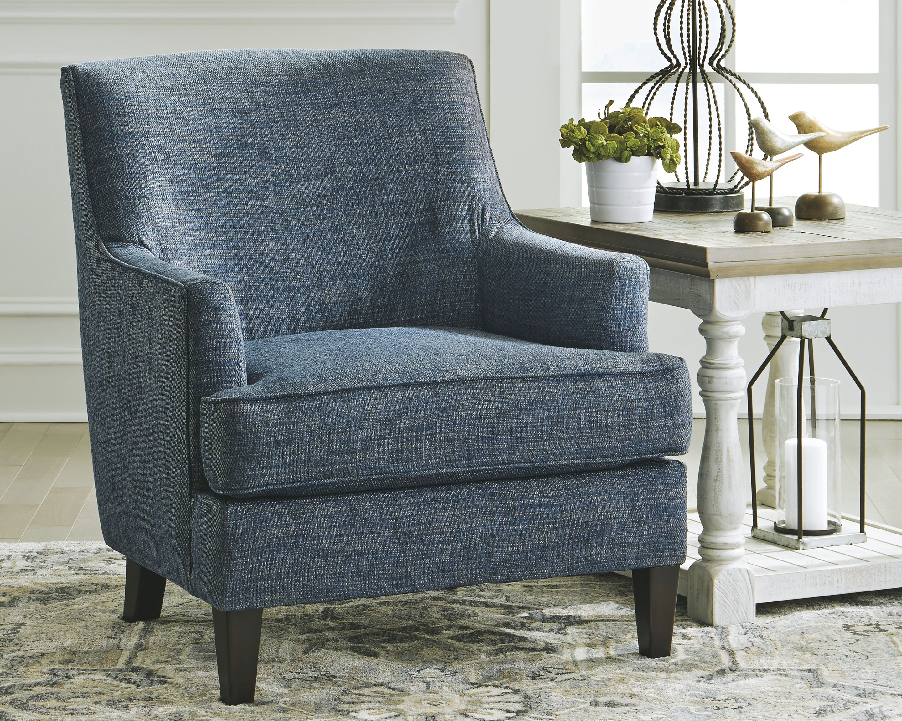 Best Tenino Accent Chair Indigo In 2019 Accent Chairs Blue 640 x 480