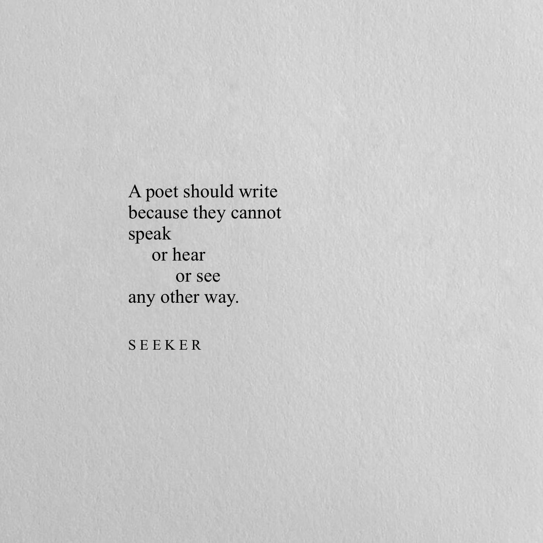 Follow @seekerpoetry on Instagram for more words. #seekerpoetry ...