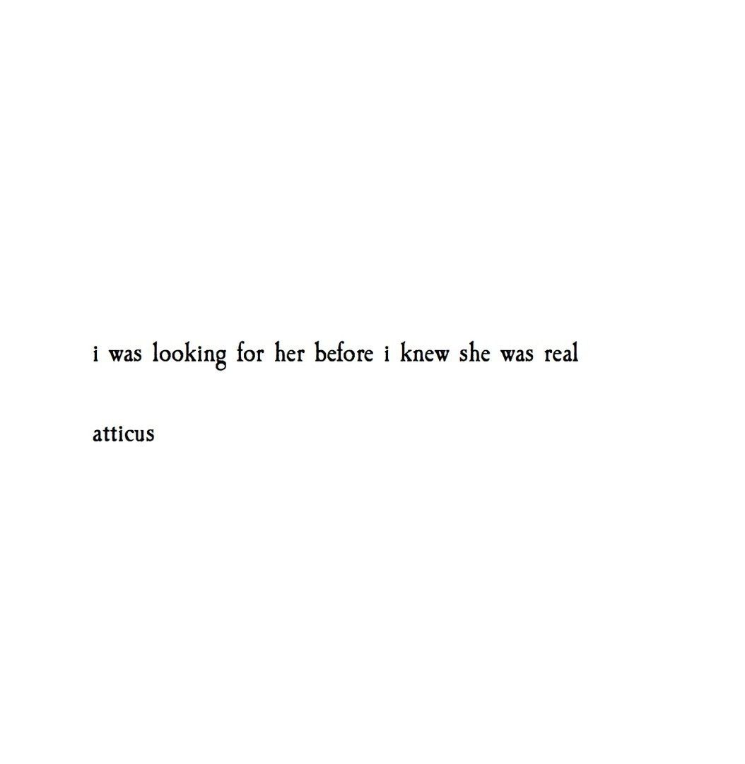 And Ill Never Be The Same Again Thoughts Of Us Atticus