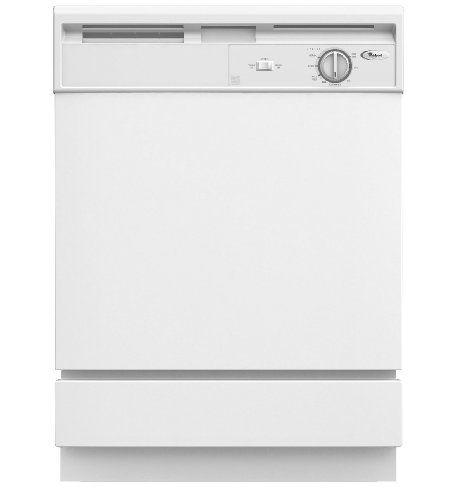 "Whirlpool DU810SWPQ 24"" White Full Console Dishwasher - Energy Star - http://bestdishwashershop.net/whirlpool-du810swpq-24-white-full-console-dishwasher-energy-star"