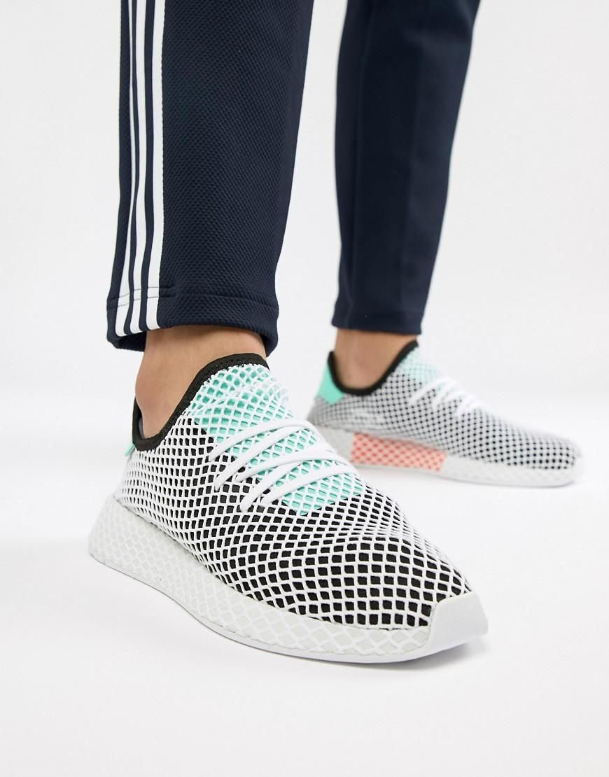 separation shoes 45593 78a25 Spring AdoreWe ASOS - adidas Originals adidas Originals Deerupt Runner  Sneakers In Black B28076 - Black - AdoreWe.com