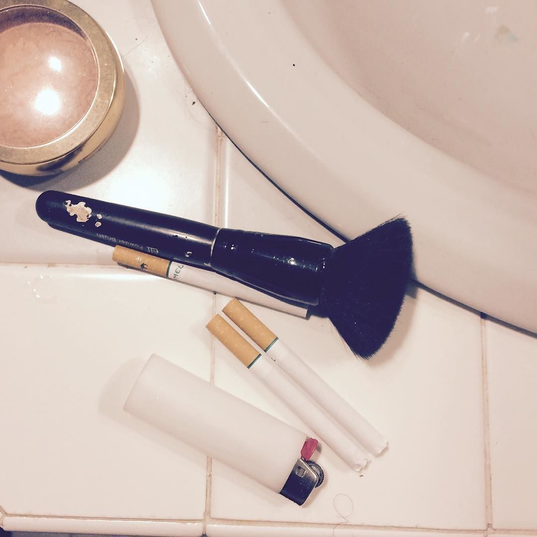 - - - - - - - - - - - - -#grunge #grungeboy #grungeboys #grungekid #grungegirl #grungeteens #grungestyle #grungelife #grungelifestyle #aesthetic #aesthetics #pink #pastel #pastelgrunge #makeup #makeupstuff #indie #lighter #ciggarettes #ciggarette #camels #camelmentol #tile #sink #bathroom #mine by the.coloured.death