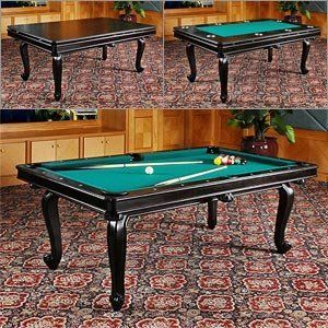 Y Game Table Pool Dining Poker 3 In 1 Pool Table Dining