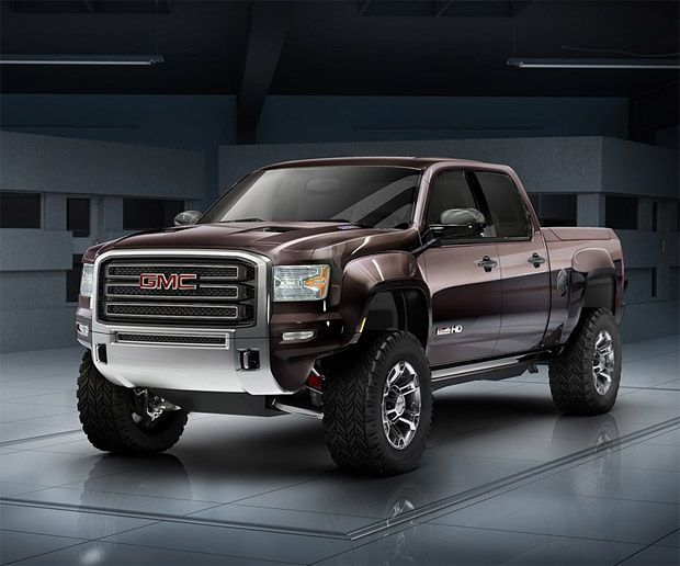 Prototype Gmc Sierra All Terrain Hd I Wish Gmc Would Build This Truck I Guess Gmc Are Afraid To Increase Truck Sales With Images Gmc Trucks Gmc Trucks