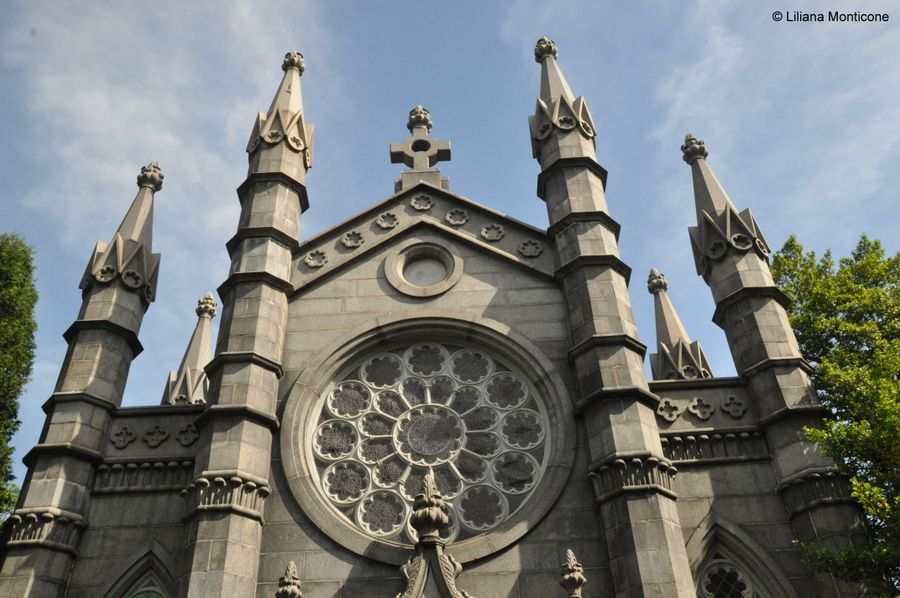 Cosa vedere a Boston Mount Auburn Cemetery chiesa
