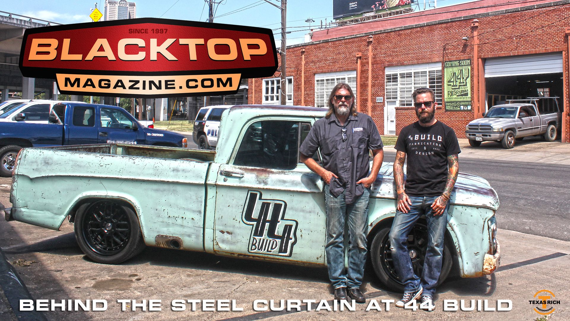 Behind the Steel Curtain at 44 Build Gas monkey garage