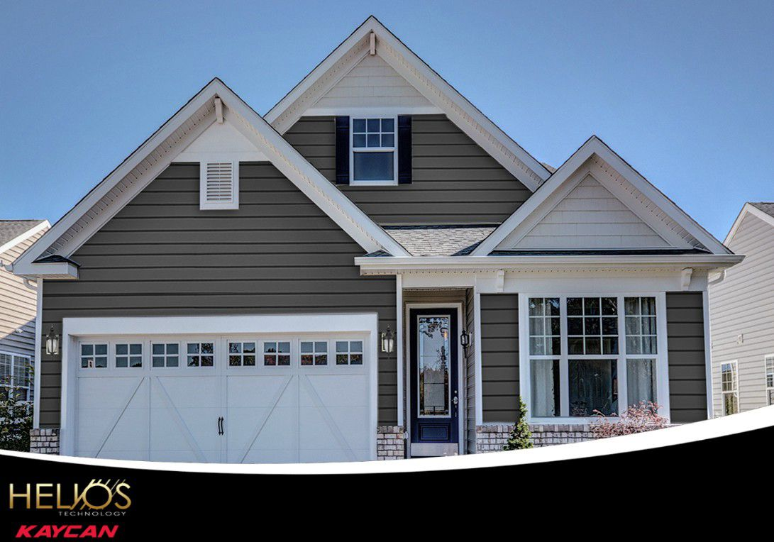 Vinyl Siding Dramatically And Cost Effectively Transforms The Exterior Of Any Home Kaycan S High Performan Vinyl