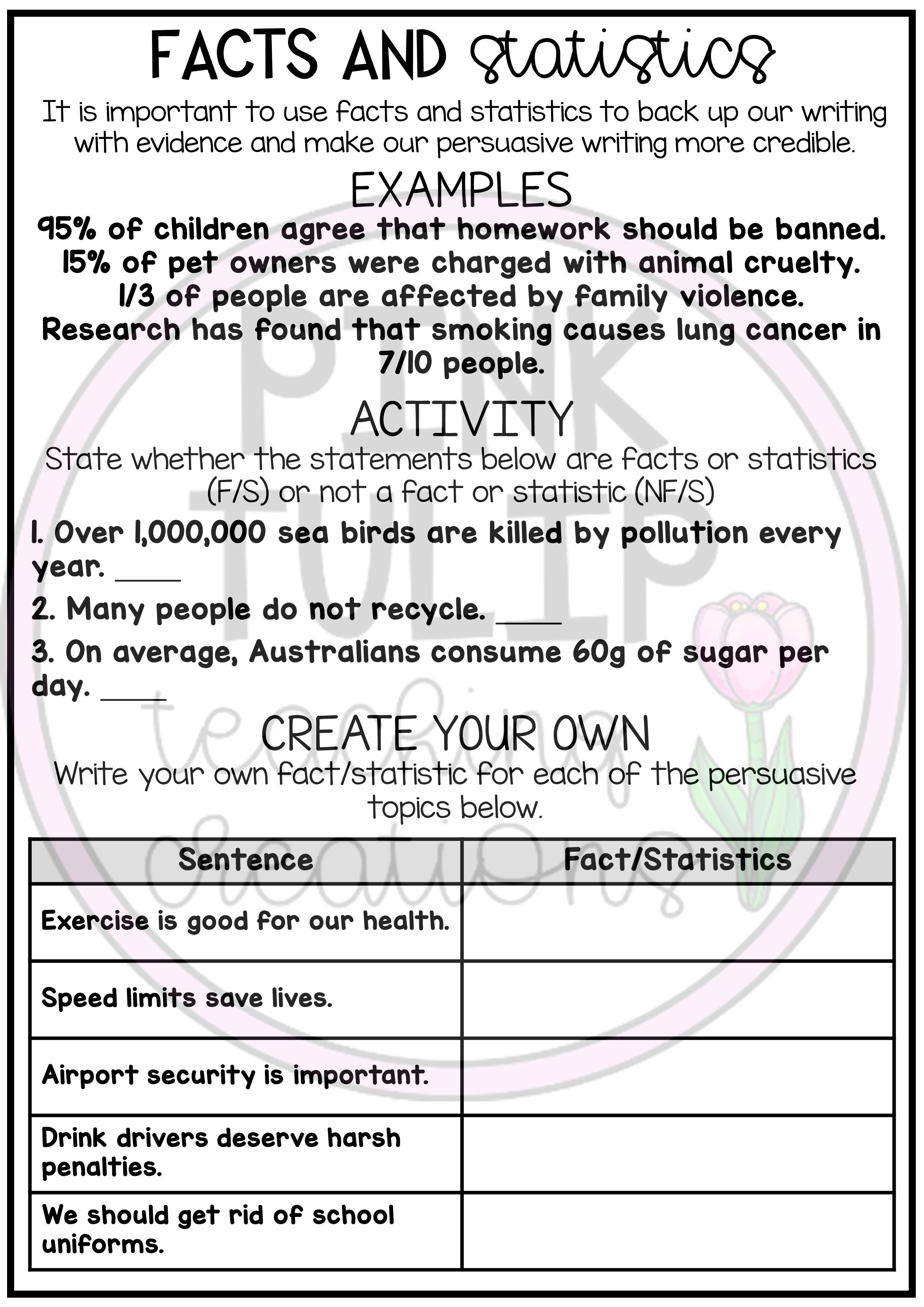 Persuasive Writing Worksheet Pack - No Prep Lesson Ideas   Persuasive  writing [ 3508 x 2480 Pixel ]