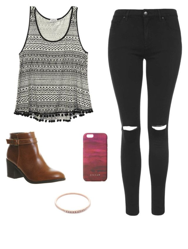 """Untitled #60"" by shruti-kasera on Polyvore featuring Wet Seal, Topshop, Office, Jigsaw and Gabriela Artigas"