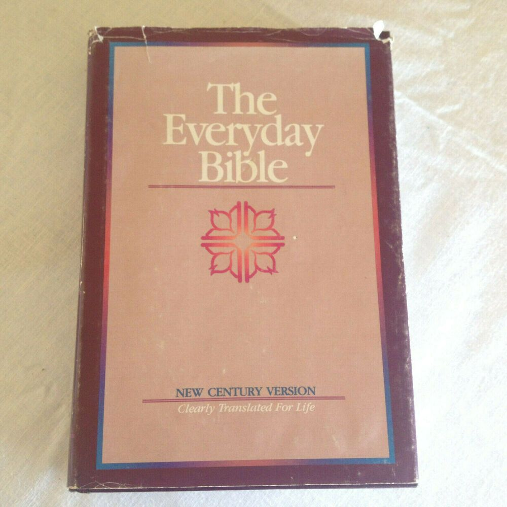 Book The Everyday Bible Daily Reading Guide Easy To