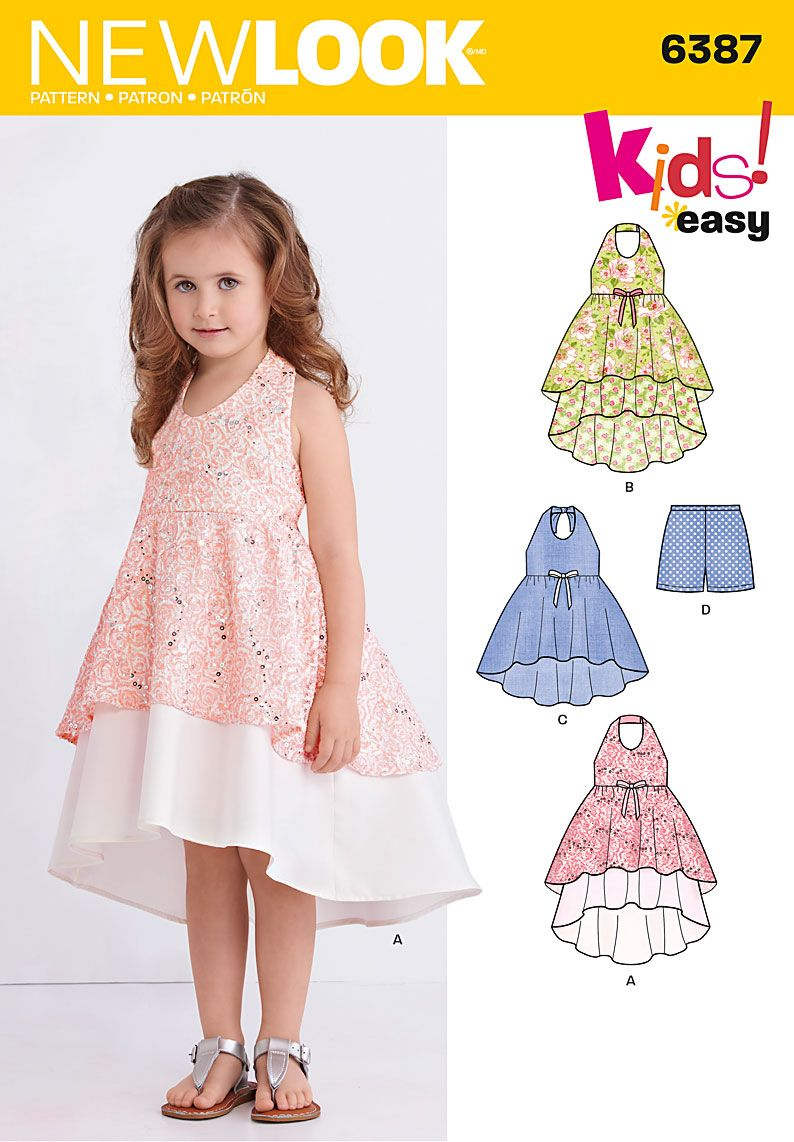 Sew an adorable halter dress for children with either contrast sew an adorable halter dress for children with either contrast bodice and underskirt or bodice overlay and skirt pattern also includes halter tunic and jeuxipadfo Gallery