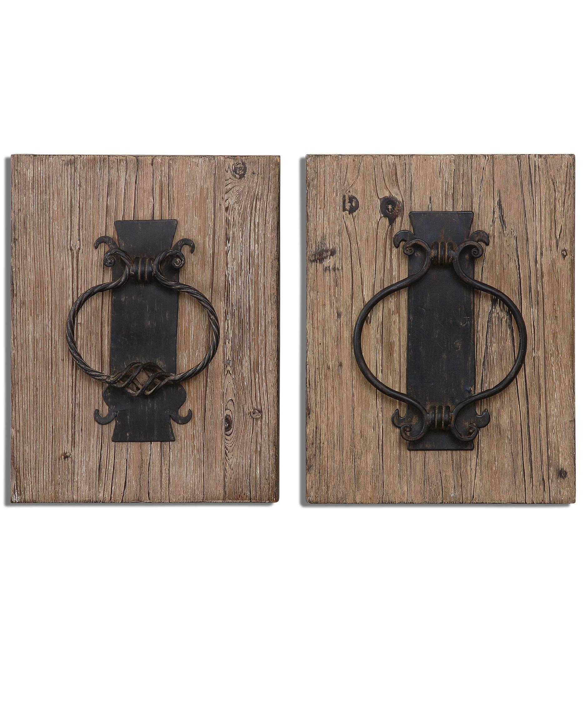 Rustic door knockers