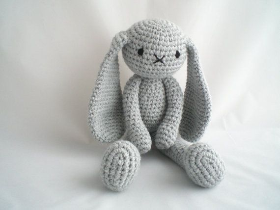 Crochet Bunny Amigurumi Rabbit Plush Toy Hand Crochet Stuffed Toy ... | 428x570