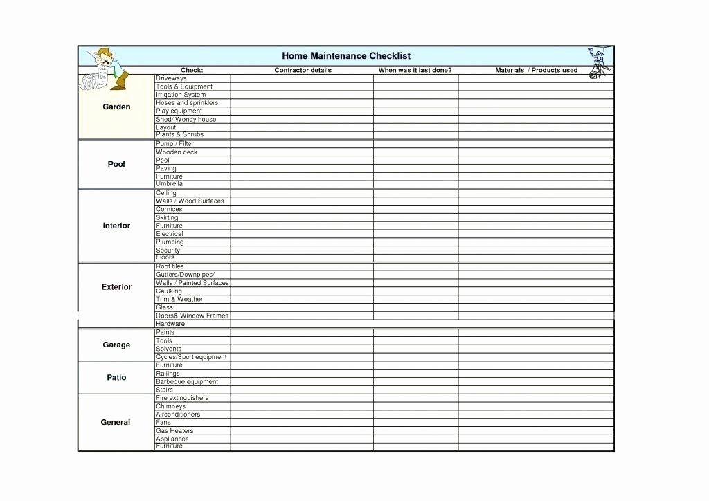 Preventive Maintenance Plan Template Inspirational Preventive Maintenance Spreadsheet Example Free Ebnefs In 2020 Preventive Maintenance How To Plan Home Maintenance