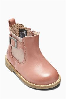 Leather Chelsea Boots (Younger Girls) | Little Girls winter wear ...