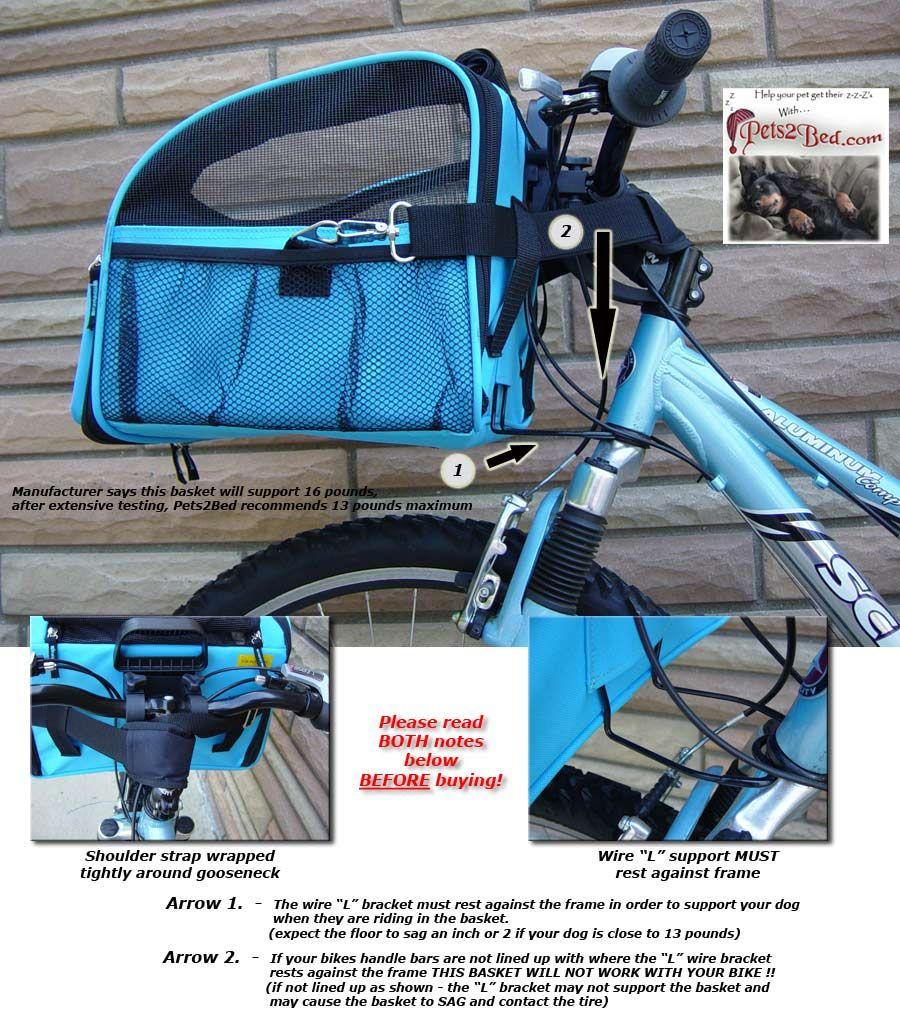 Dog Baskets For A Bike Large Bicycle Basket Traveler Dog Carrier