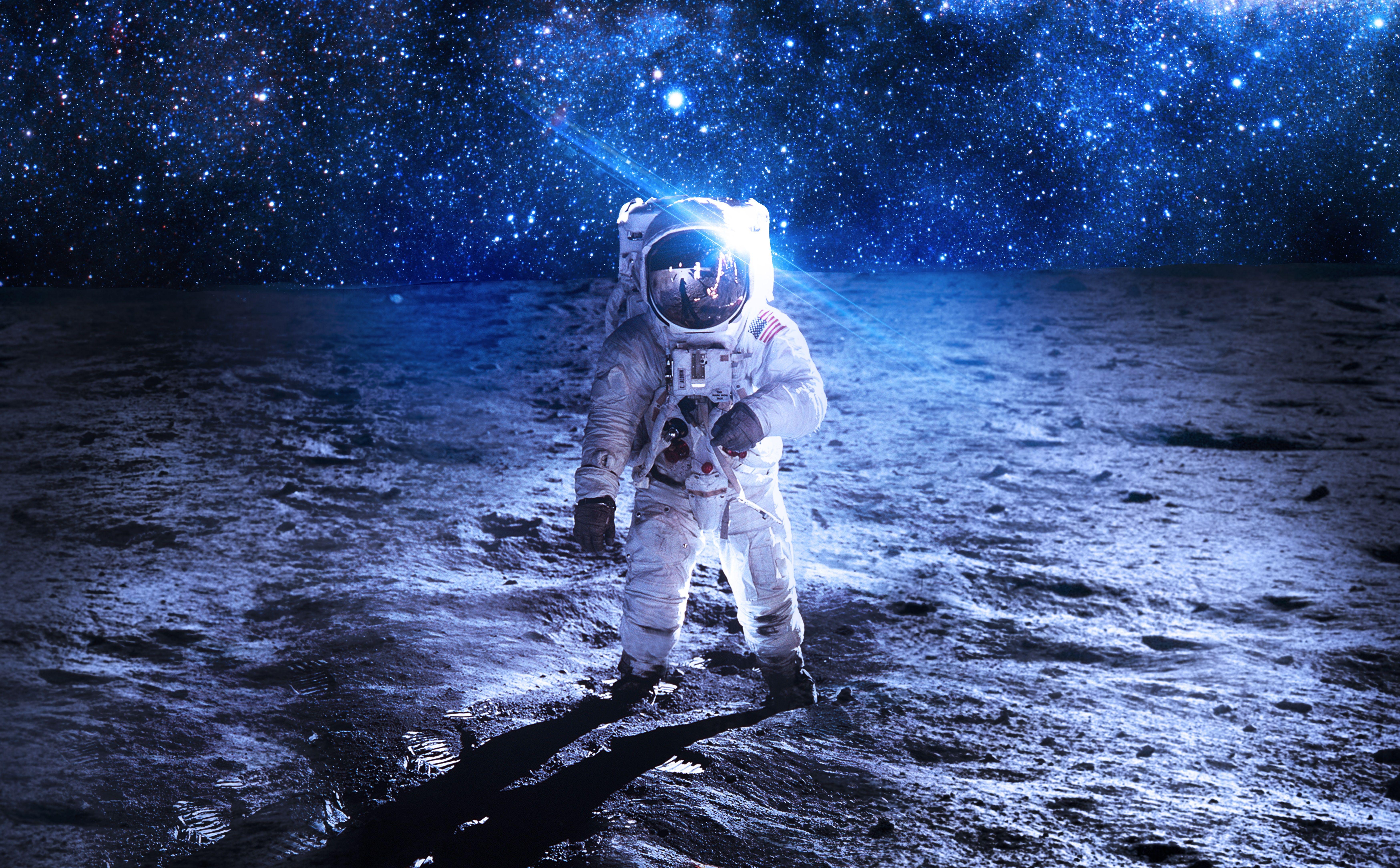 Sci Fi Astronaut Wallpaper