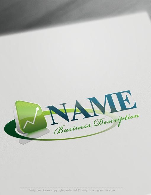 Finance Online Logo Template Get your Finance Logo