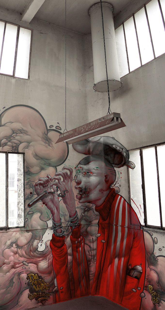 Street Art Urbain Art Mural Paris