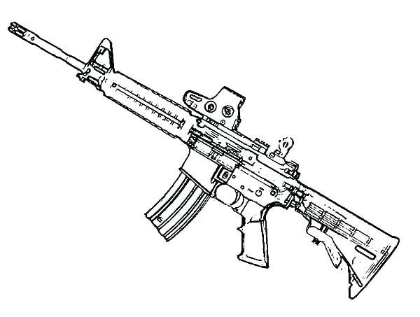 gun coloring pages gun coloring