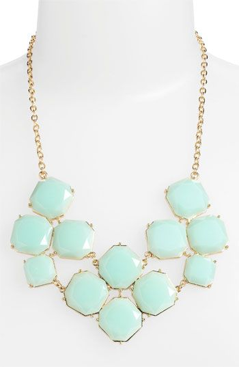 Stephan & Co. Stone Statement Necklace available at #Nordstrom $24
