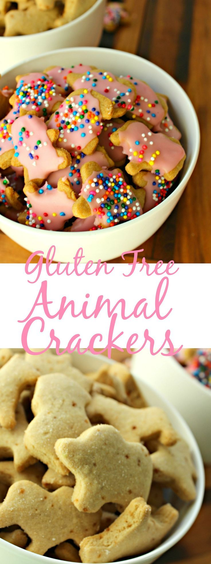Bring yourself back to your childhood with these fun little animal crackers that are so easy to make and the best is they are gluten free for everyone! | gluten free snacks | gluten free animal crackers | animal crackers | snacks | gluten free | kids snacks | easy to make gluten free snacks | easy to make snacks |