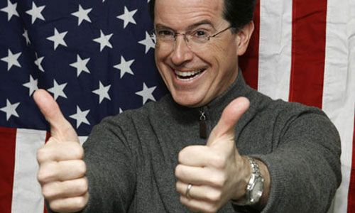 Pin By Barbara Hallinan On Thumbs Stephen Colbert Thumb Colbert