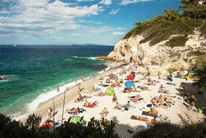 Blue flag beaches in Tuscany