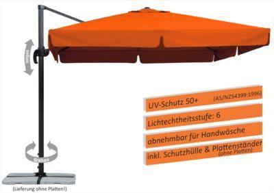 schneider ampelschirm rhodos terracotta 300 x 300 cm home pinterest. Black Bedroom Furniture Sets. Home Design Ideas