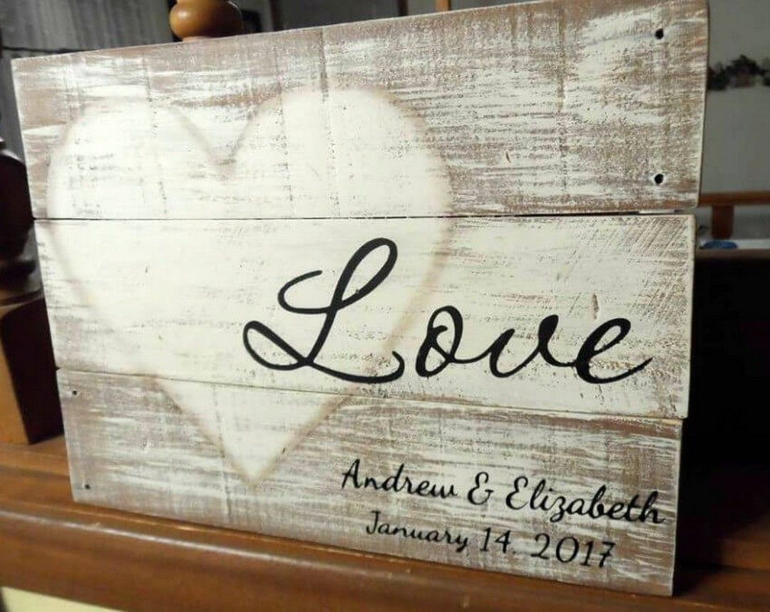 34 Lovely Rustic Love Wood Signs Ideas Bring The Love To Your Life Love Wooden Sign Love Wood Sign Love Signs
