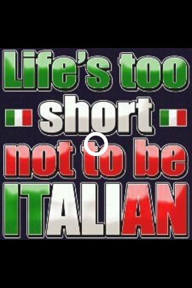 Be #Italian!   Funny italian sayings, Italian humor ...