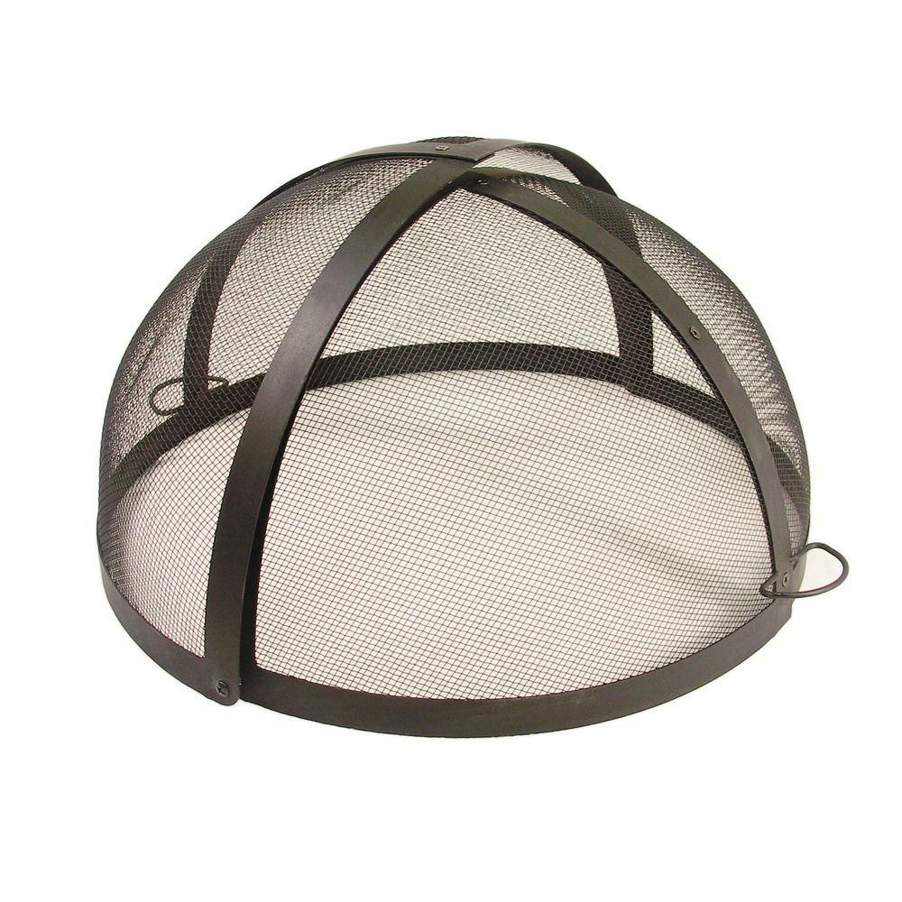 Catalina Creations 24 In Fire Pit Folding Spark Screen Ad112 Ts Fire Pit Screen Fire Pit Spark Screen Fire Pit Accessories