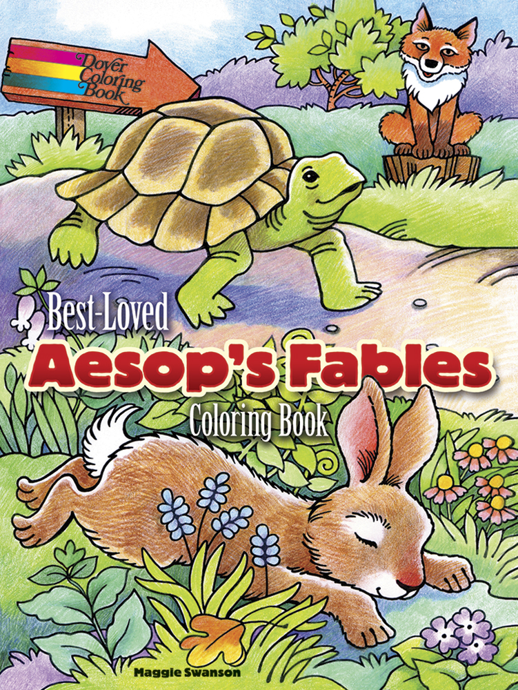 Best Loved Aesop S Fables Coloring Book In 2020 Coloring Books Designs Coloring Books Aesops Fables